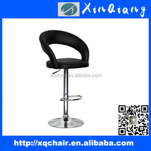 XQ-754C Faux leather swivel kitchen breakfast bar stool PU bar chair