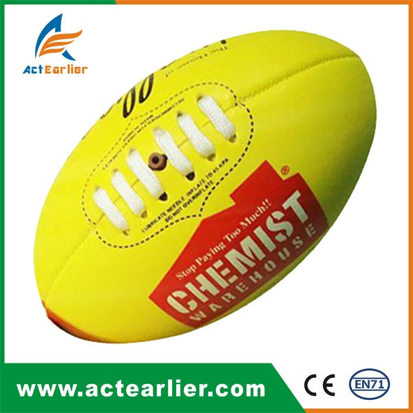 cheap custom promotional PU PVC Rubber wholesale mini american football ball