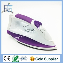 Wholesale DC 12V solar electric iron DC dry iron