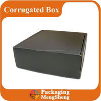 Custom Matte Black Cardboard Foldable Packaging