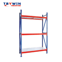 Industrial Hose Clothes Store Display Warehouse Storage Rack with shop Racking Sheif