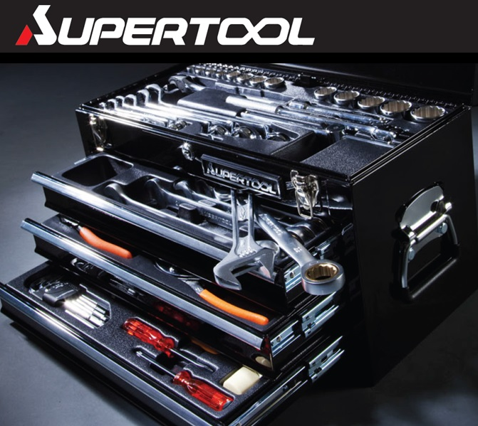 SUPERTOOL Special Tools Set for Professional: for motorcycle, cars, machine etc.