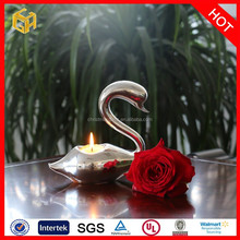 Lower price shapes hanging glass lotus tealight candle holder,home decorations.