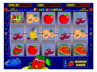 Igrosoft 1 in 1 fruit cocktail slot game