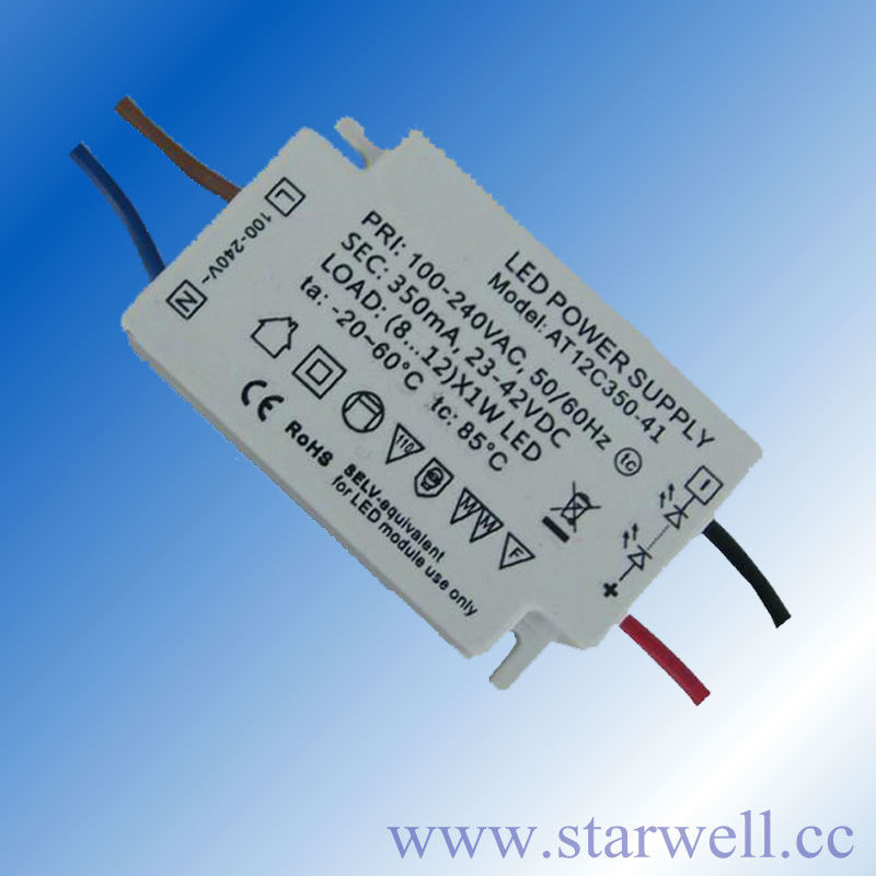 12V constant voltage led driver with high power factor 0.95 For Led strip