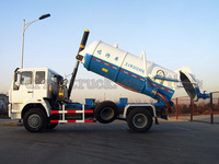 DongFeng 100HP light vacuum sewage truck pump vacuum truck vacuum pump fecal suction truck