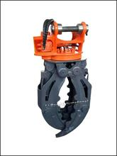 brand new wood grapple used on new holland tractor log grapple hydraulic grapple for excavator