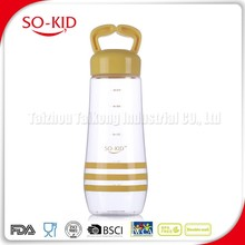 Supply Plastic Sparkling Drinking Water Bottle With Sleeve