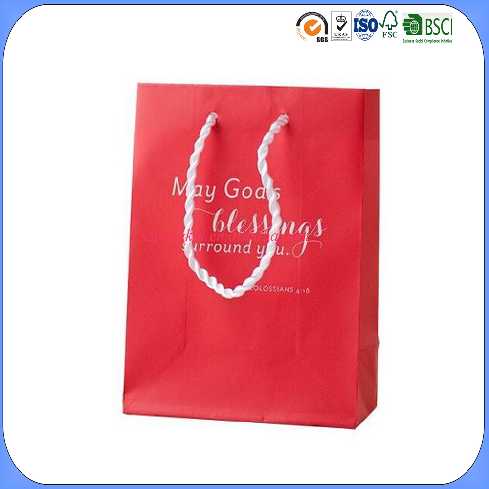 Best selling custom printed paper gift bags for everyday use