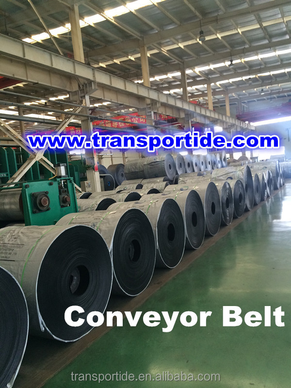 high standard construction steel cord high tensile strength Conveyor belt made in China