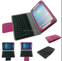 Buy From Alibaba Stand Leather Case for Samsung Galaxy Tab 3 8.0 Bluetooth keyboard Cover