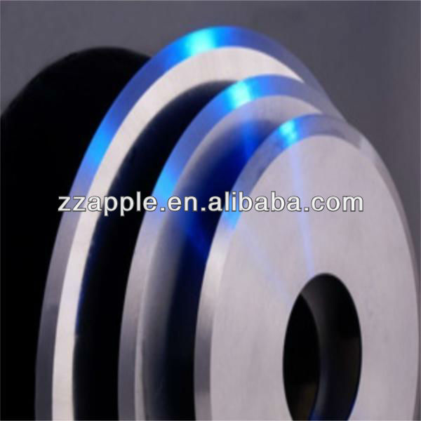 promotion price of solid tungsten carbide circular knives for paper cutting