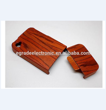 Wooden Hard Case Wholesale 100% Natural Wooden Case Hand-made Wooden Back Case for iPhone 5 5G