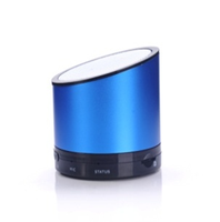 Metal round Bluetooth speaker portable wireless mini speaker with hands free and TF card function
