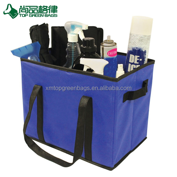 Custom non woven personal organizer bag home foldable storage bag