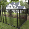 House wrought iron railings design with iron fence gates models