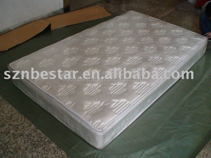 Fire Retardant Compressed Spring Mattress for Hotel Furniture