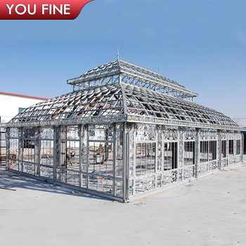Decorative Iron Large Outdoor Gazebo
