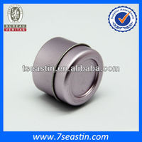 Custom round tin can with shallow body/round tin can for your logo