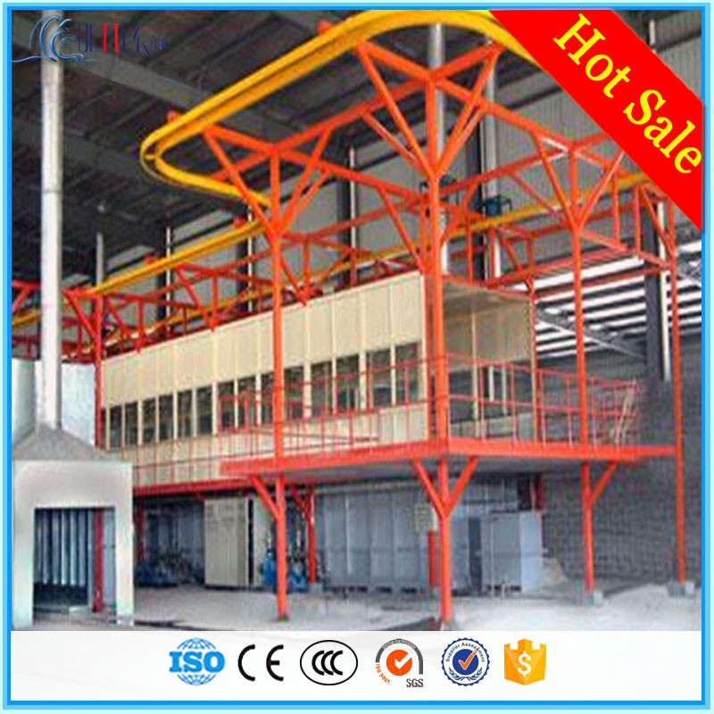 High quality automatic powder coating line used
