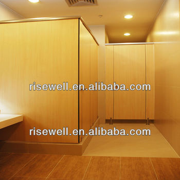 DEBO HPL toilet cubicle partition