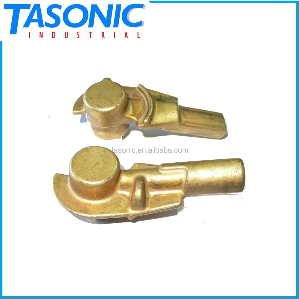 Custom made OEM metal fabrication forged brass parts