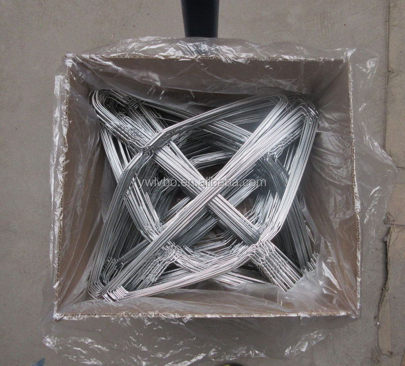 $9.5/10.5 / ctn Whole sale cheap price good quality hotel electro galvanized iron wire cloth hangers