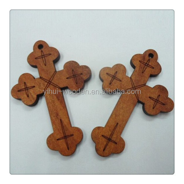 Cheap unfinished wooden crosses wholesale
