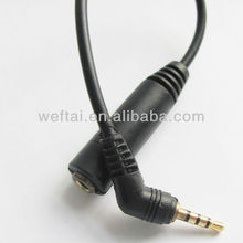 2.5 Male To 3.5 Female Audio Cable