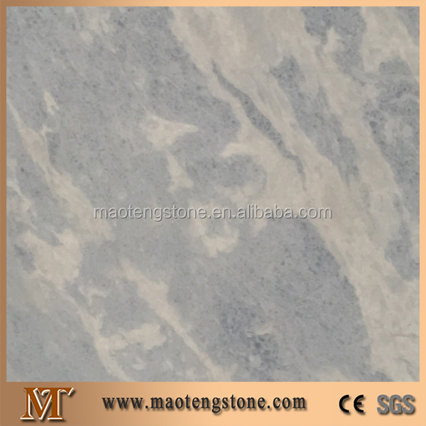 High Quality Stone With White Veins Surface Natural Blue Sky Marble