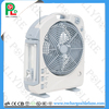 2017 BIG SALE factory stock XTC-168 series rechargeable fan with led lights and radio