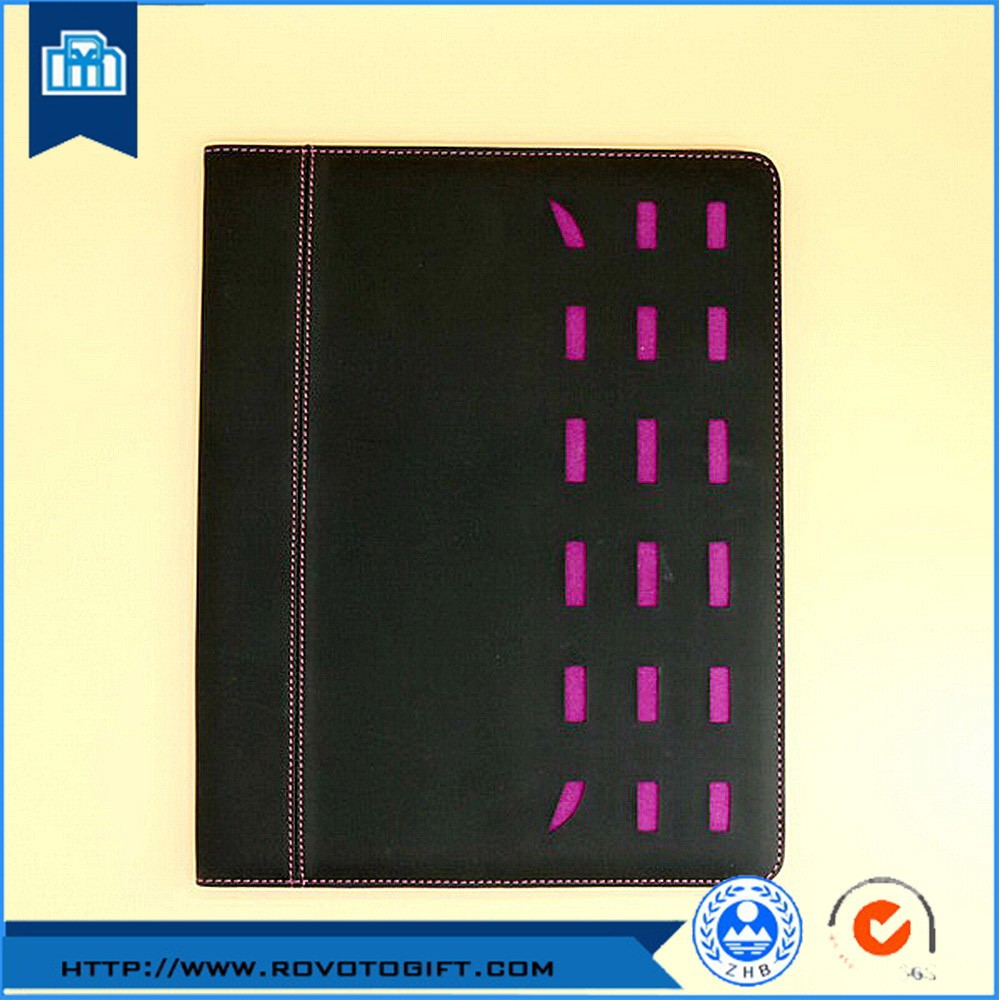 China manufacturer for widely used popular office and school products folio bag