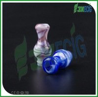 2014 new product vip electronic cigarette nice mix color pyrex drip tip 510