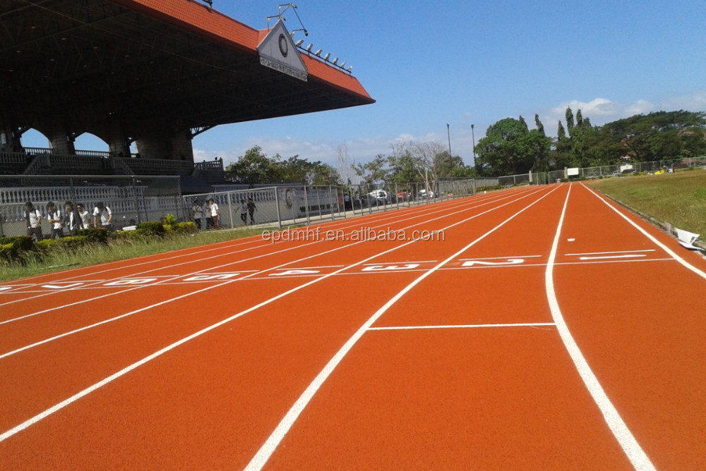 IAAF certificate running track surfacing materials