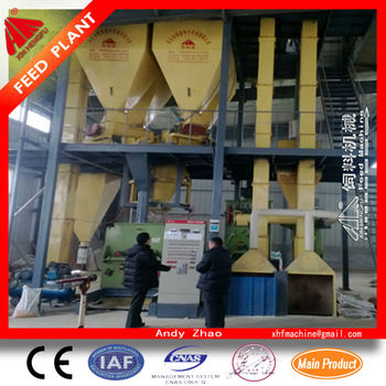 High quality Complete Mini Poultry Feed Mill Machine with ce