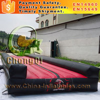 Hot sale inflatable gym mat outdoor air tumble track