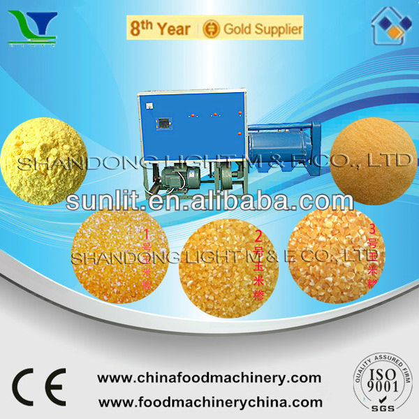 Automatic Wheat Sorghum Ground Corn Peeling and Grits Machine
