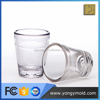 hot sell food grade clear plastic disposable pots