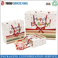Summer birthday gift packaging paper bag