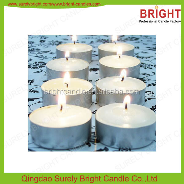Wholesale Long Burning Time 23g Tea Light Candle