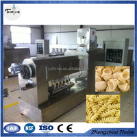 Commercial short pasta processing line/ Macaroni food extruder machine/pasta press machine