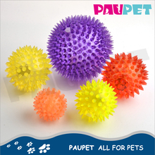 Rubber pet toy food treated teeth chew toy with balls dog ball toy