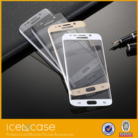 2015 New tempered glass Ultra Smooth 9H Mobile phone / Cell phone Tempered Glass Screen Guard for Samsung galaxy s6 edge
