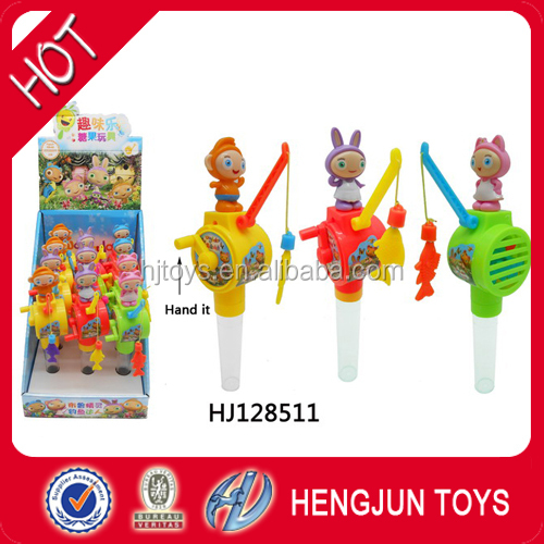 2017 hot China plastic candy toys small flash ferris wheel direct factory
