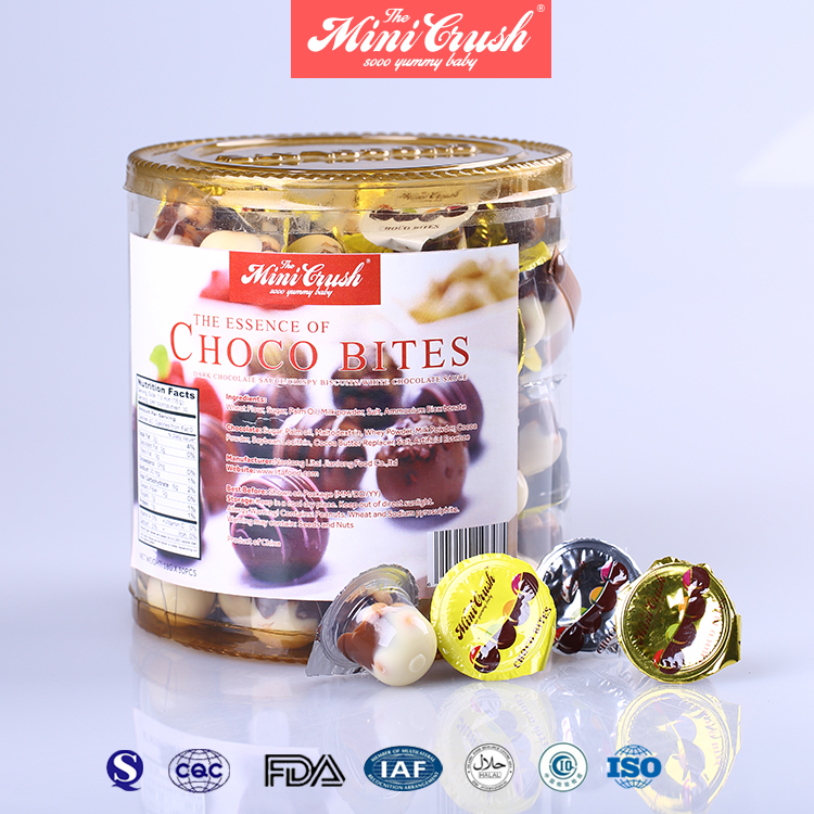 Halal Choco Cup With Bar Biscuit Chocolate Jam Cup