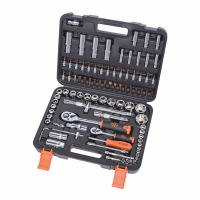 Socket Set High Quality 94pcs 1/4 1/2 Socket Ratchet Wrench Combo Tools Kit for Auto Repairing