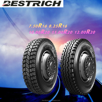 BESTRICH 7.50R16 8.25R16 light truck tyre part worn tyres 4x4 accessories