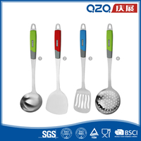 China factory kitchen essential price of stainless steel utensils