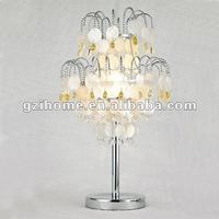 Shells chandelier table decoration/shells table lamp(IH-61754)