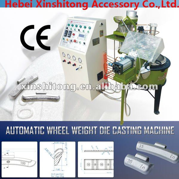hot sale automatic wheel weight die casting machine